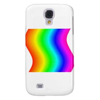 Wavy Rainbow 3 Samsung Galaxy S4 Covers