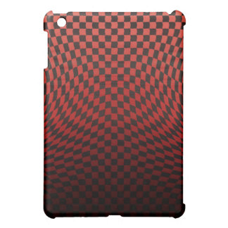 Wavy Red Speck Case 3 Case For The iPad Mini