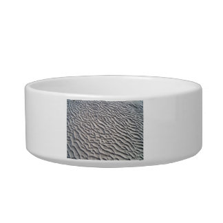 Wavy Sand texture Cat Water Bowl