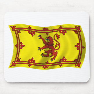Wavy Scotland Flag Mousepads