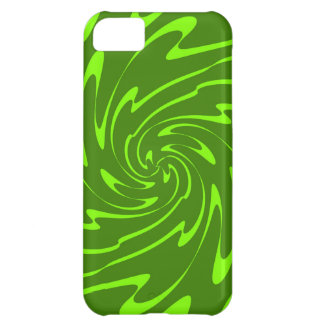 Wavy Sea Pattern (Lime, Green) iPhone 5C Cover