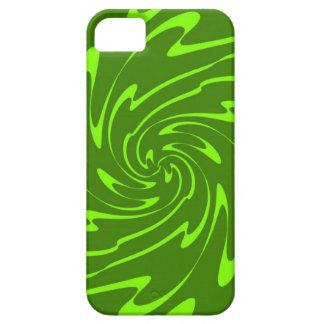 Wavy Sea Pattern (Lime, Green) iPhone SE/5/5s Case