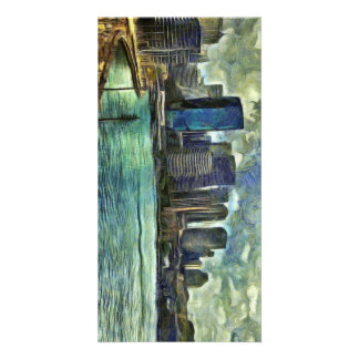 Wavy skyline of Sydney Card