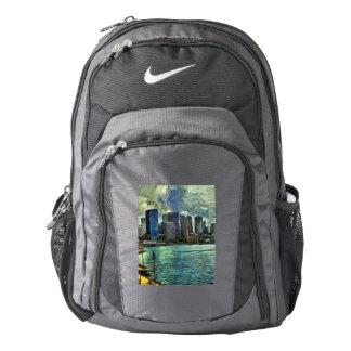 Wavy skyline of Sydney Nike Backpack