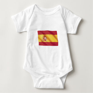 Wavy Spain Flag T Shirts