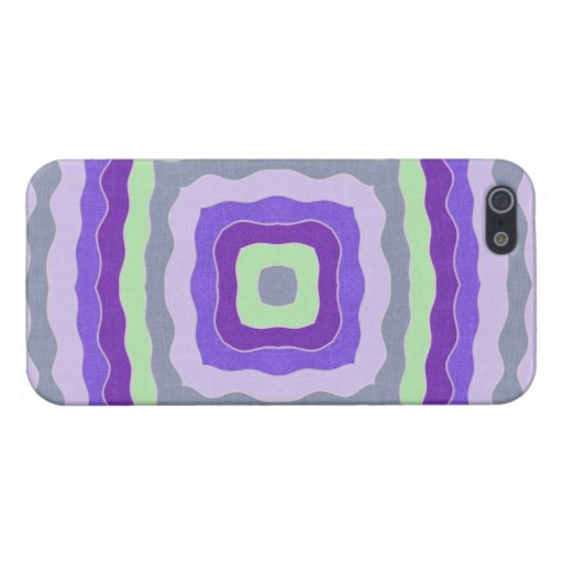 Wavy squares iPhone 5/5S case
