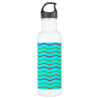 Wavy Summer Water Bottle