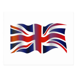 Wavy UK Postcard
