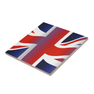Wavy UK Small Square Tile
