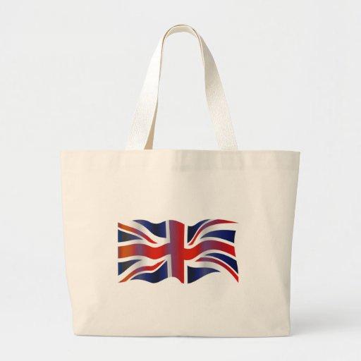 Wavy UK Tote Bags