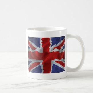 wavy Union Jack Coffee Mug