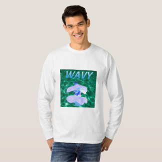 Wavy Vaporware Crew neck Sweatshirt