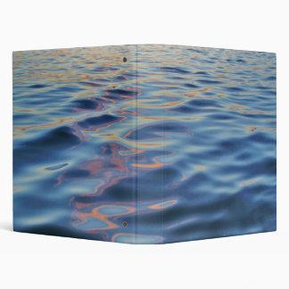 Wavy Water Background Binder