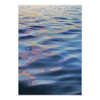 Wavy Water Background Card