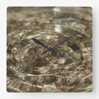 Wavy Water Wall Clock