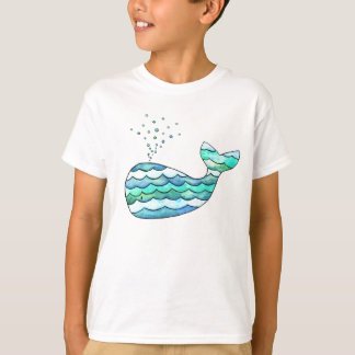 Wavy Whale T-Shirt