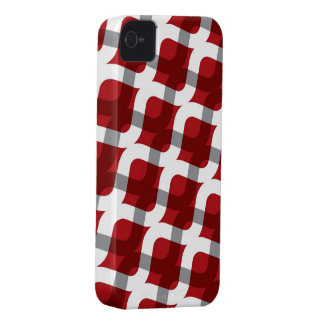 Wavy Zig Zag Abstract Pattern iPhone 4 CaseMate iPhone 4 Case-Mate Case