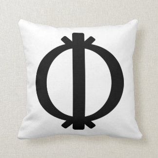 Wawa Aba | Symbol of Toughness and Resilience Throw Pillow