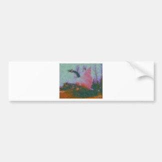 wawa goose painting by hart bumper sticker