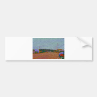 wawa mainst painting by hart bumper stickers