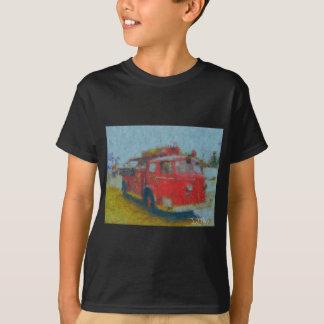 wawa old fire truck by hart T-Shirt