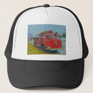 wawa old fire truck by hart trucker hat