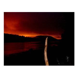 Waweig River at Sunset Postcard