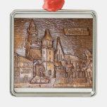 WAWEL CASTLE IN KRAKOW POLAND CHRISTMAS TREE ORNAMENTS