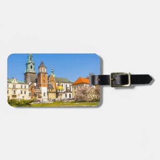Wawel Castle, Krakow, Poland Luggage Tag