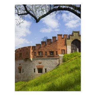Wawel Castle, Krakow, Poland Postcard