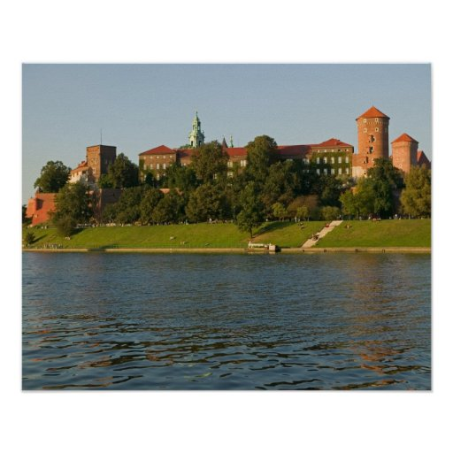 Wawel Hill with Royal Castle and Cathedral, Print