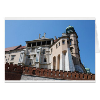 Wawel Royal Castle in Cracow Card