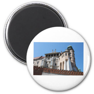 Wawel Royal Castle in Cracow 2 Inch Round Magnet