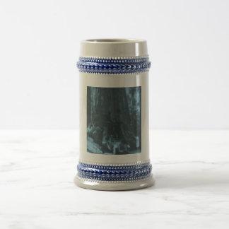 Wawona Tree Magic Lantern Maraposa Grove CA Coffee Mugs