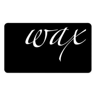 Wax: Brazilian Wax Business Card