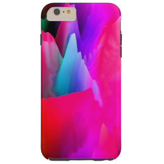 Wax Candle Mountains Tough iPhone 6 Plus Case