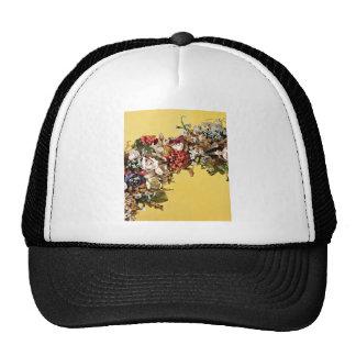 Wax Flower Basket Handle Trucker Hat