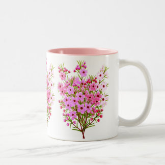 Wax Flower Bouquet Mug