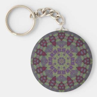Wax Garden Mandala Keychain