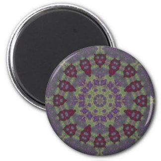 Wax Garden Mandala Magnet