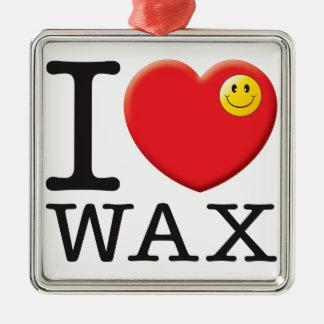 Wax Love Metal Ornament