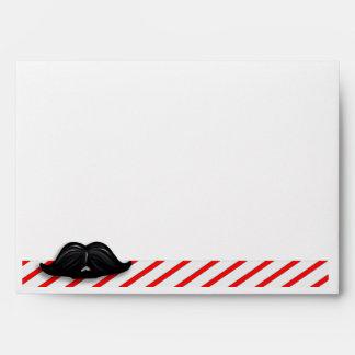 Wax Mustache Greeting Card Envelope WM-1E Envelopes