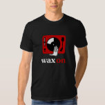 Wax On Turntable DJ Shirt
