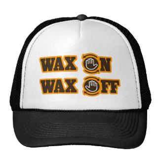 Wax On - Wax Off Hat