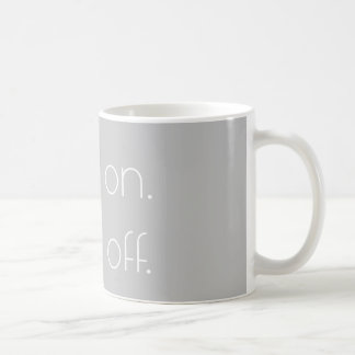 wax on. wax off. ||| {MUG} Coffee Mug