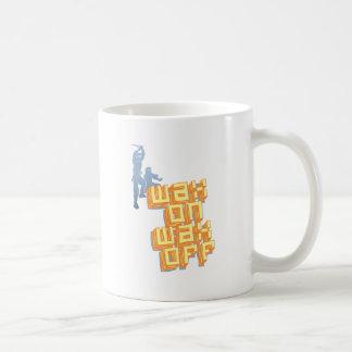 Wax On Wax Off Ninjas Coffee Mug