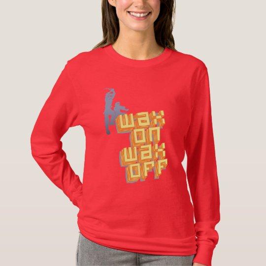 Wax On Wax Off Ninjas T-Shirt