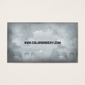 Wax Papered General Business Card