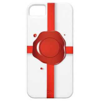 Wax Seal And Red Ribbon iPhone SE/5/5s Case