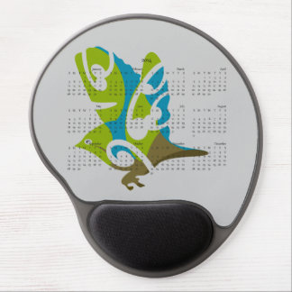 Waxeye Tauhou 2014 calendar mousepad Gel Mousepads